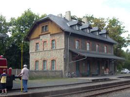 Bayerns nördlichster Bahnhof